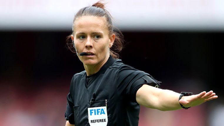 Woman appointed to referee English Football League game for first time ever