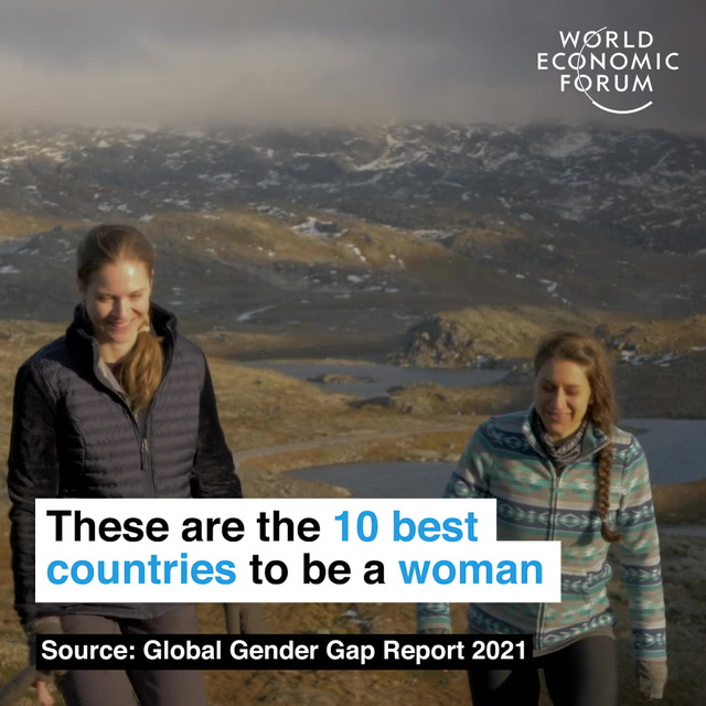 These are the 10 best countries to be a woman