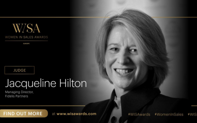 Delighted to have been confirmed as a judge for the 2021 European Women In Sales Awards